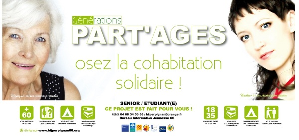 PART'AGES, osez la cohabitation solidaire.